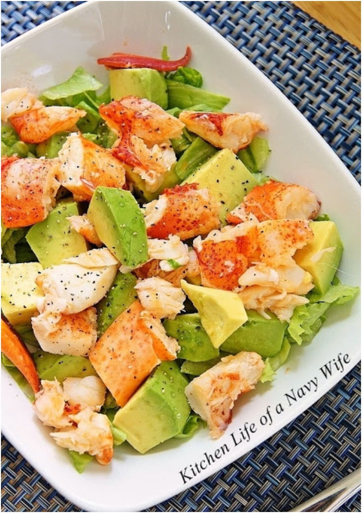 lobster-avocado-salad