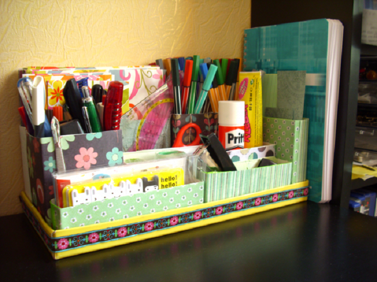 7 Creative And Useful DIY Desk Organizers