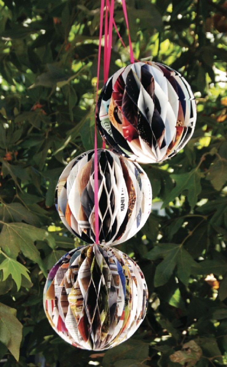 7 diy simple and easy paper party decorations for Paper decorations diy