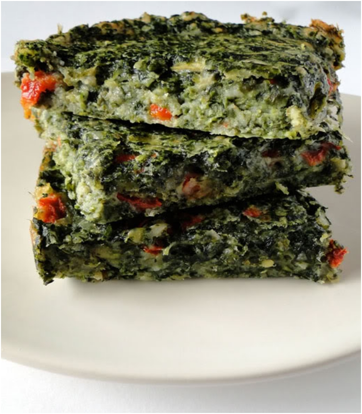 spinach-brownies