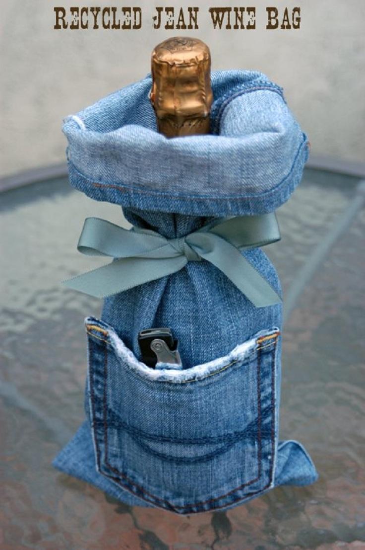 Ways to recycle old jeans - Ways To Recycle Old Jeans 46