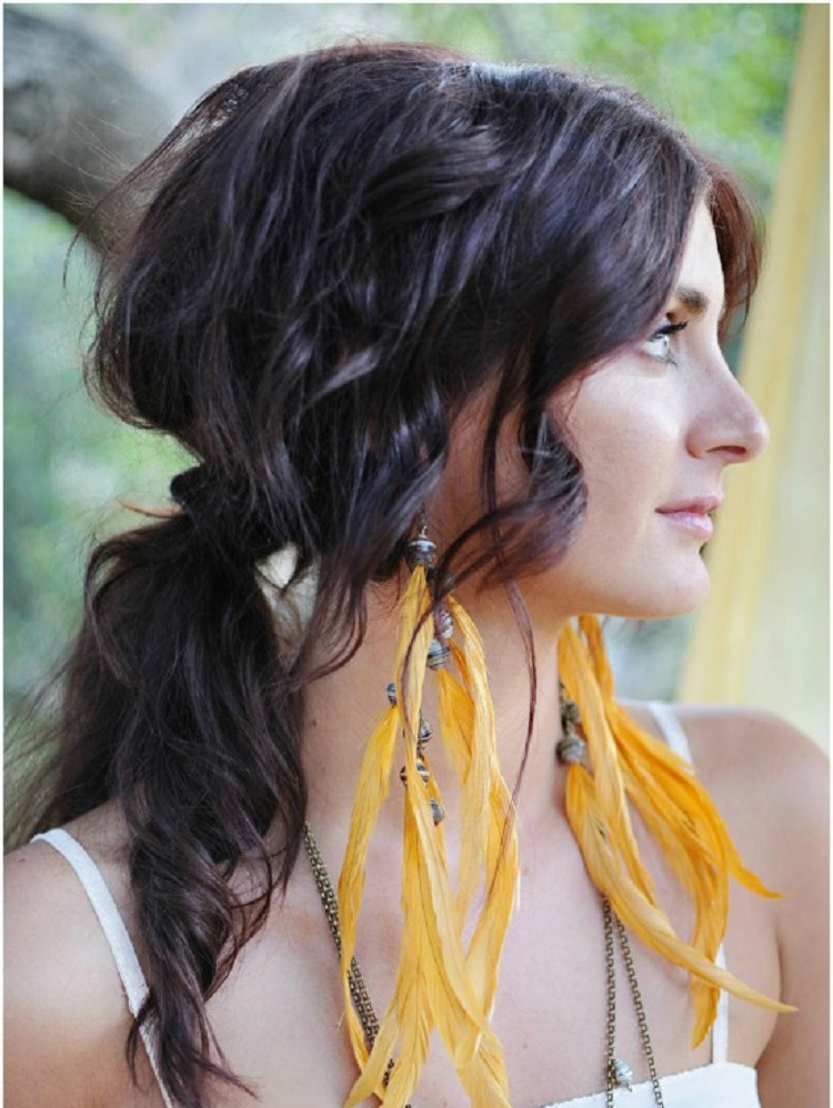10 Tutorials For Messy Yet Lovely Boho Haistyles