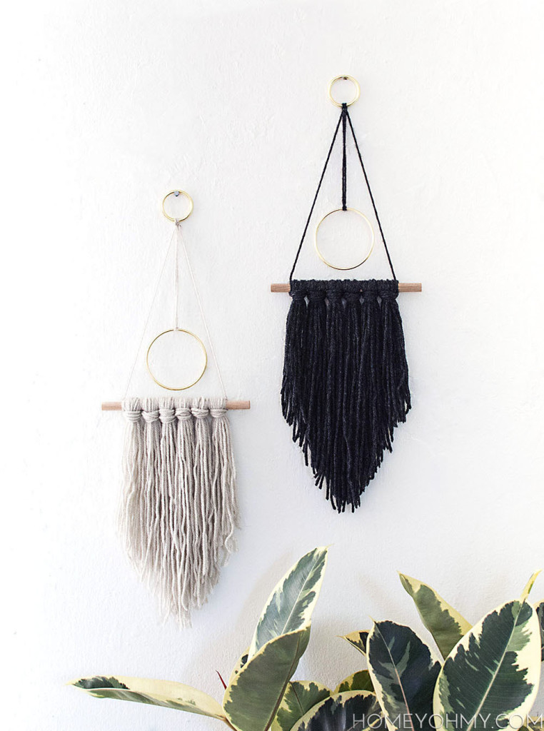 DIY-Modern-yarn-hangings3