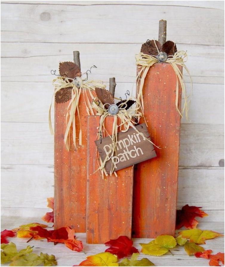 2 4 Pumpkin Home Decor