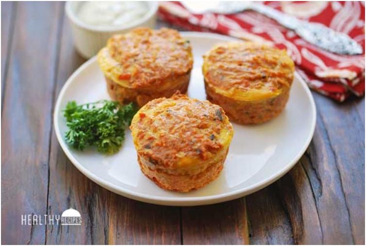 Salmon Muffins
