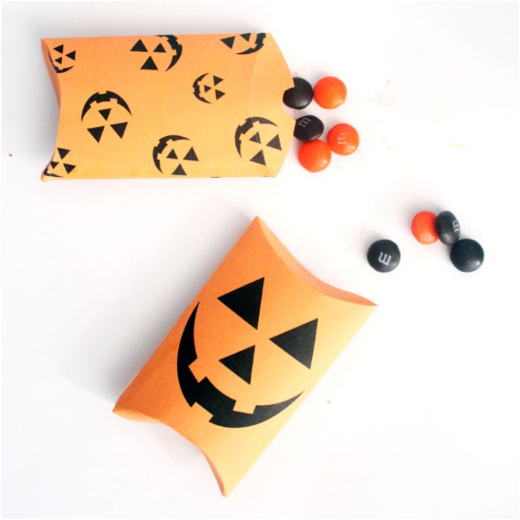 Halloween Pillow Treat Box