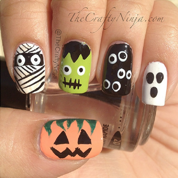 diy-halloween-nails
