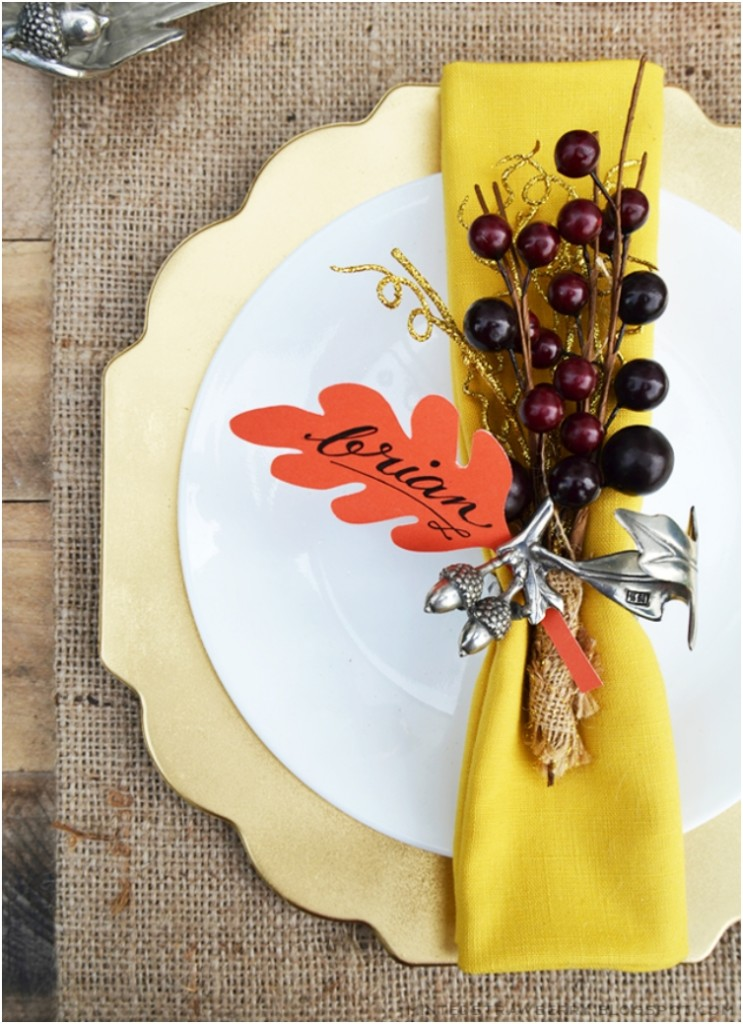 Fall Tablescape Decor